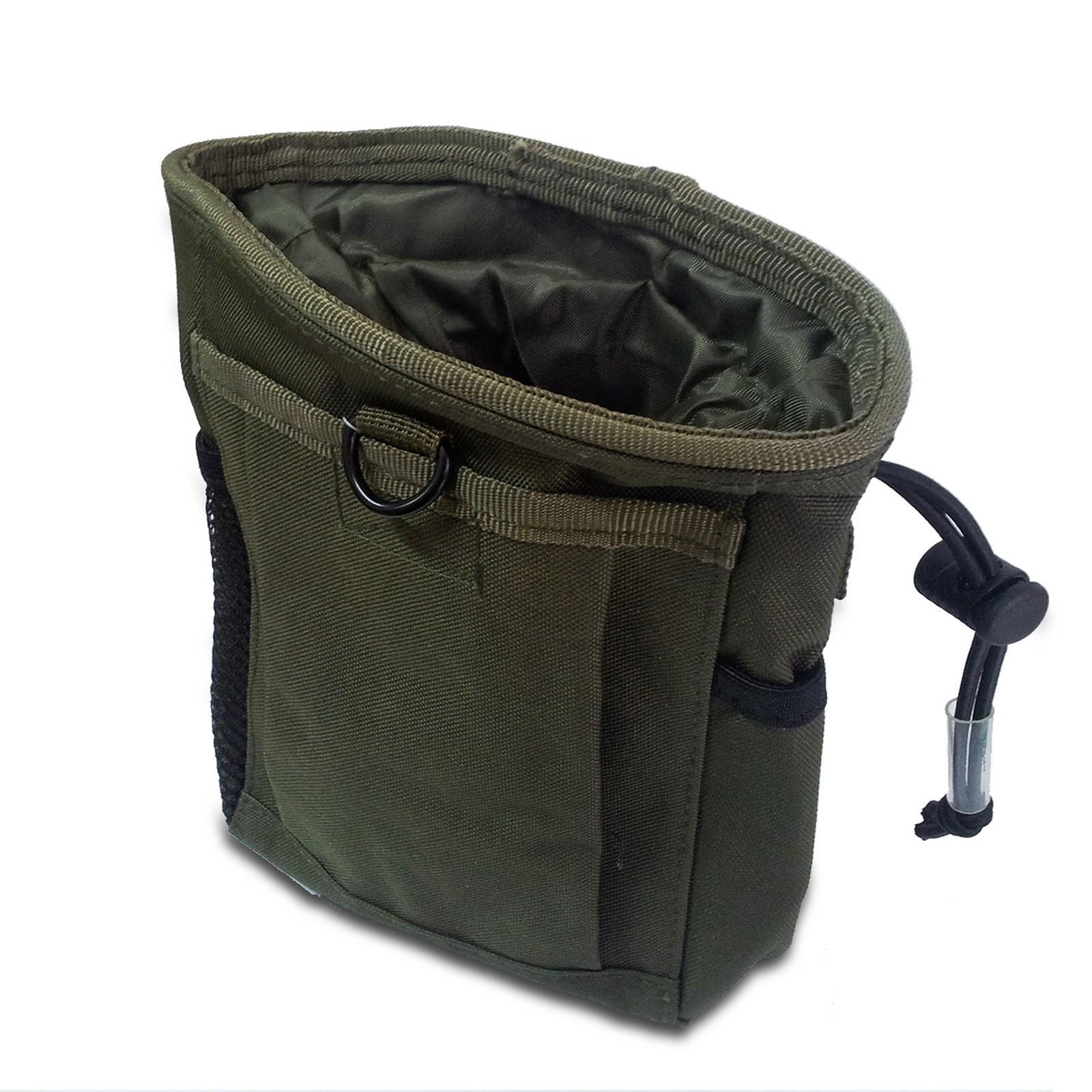 Tasca Portatutto Porta Caricatori Softair Soft Air Verde Militare Molle ROYAL