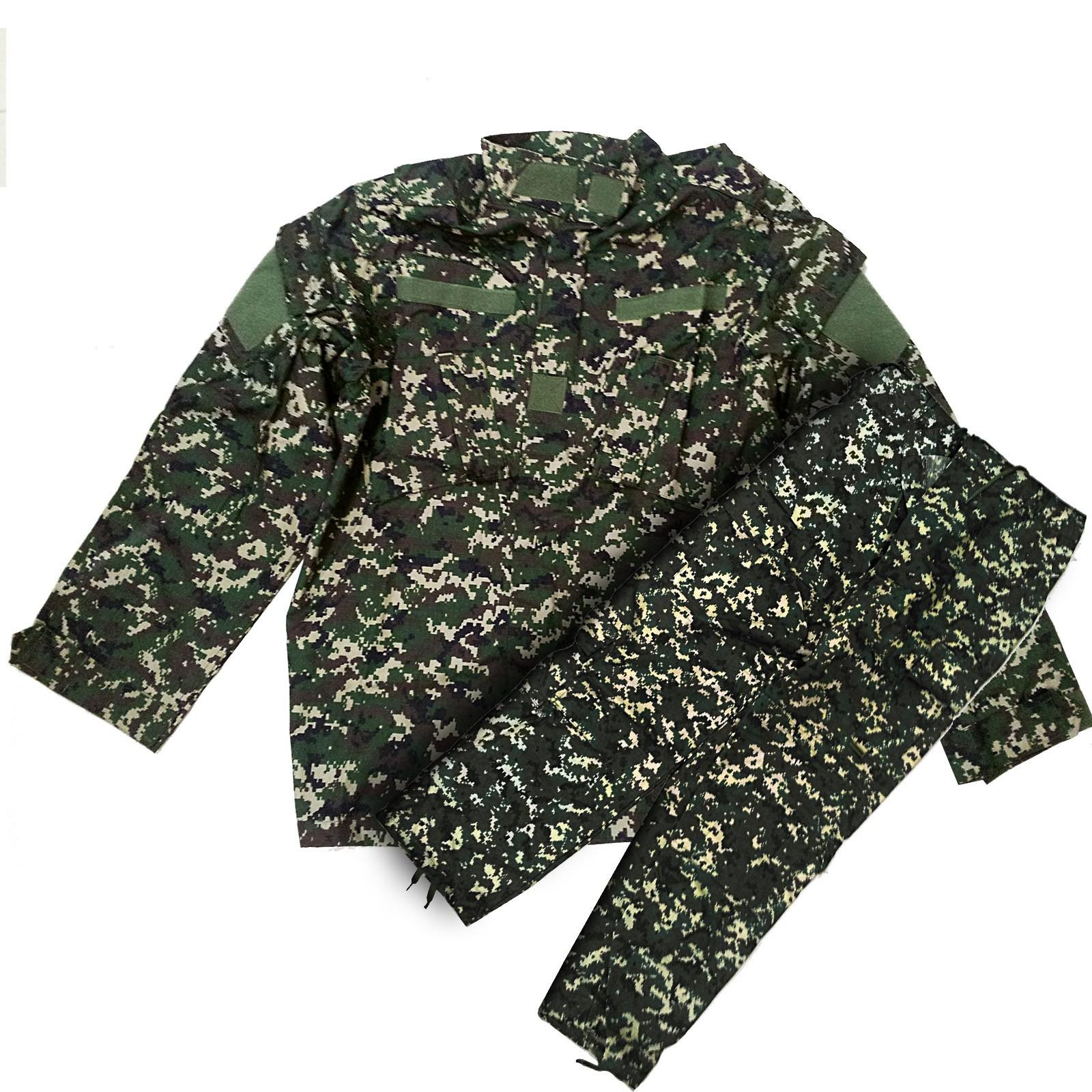 Mimetica Militare Giacca Tattica + Pantalone Taglia M per Caccia Wooland Digital