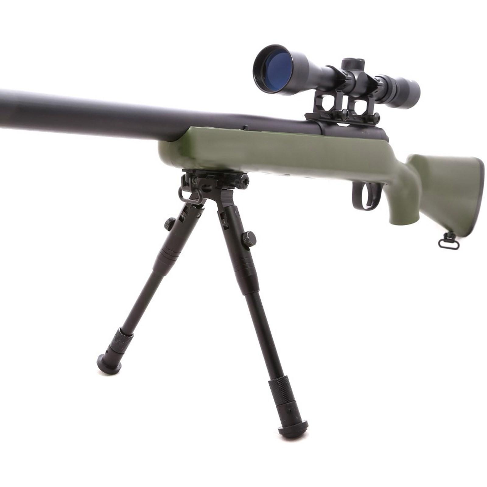 Fucile a molla mb03 sniper abs canna in metallo da for Costo della costruzione del fucile da caccia