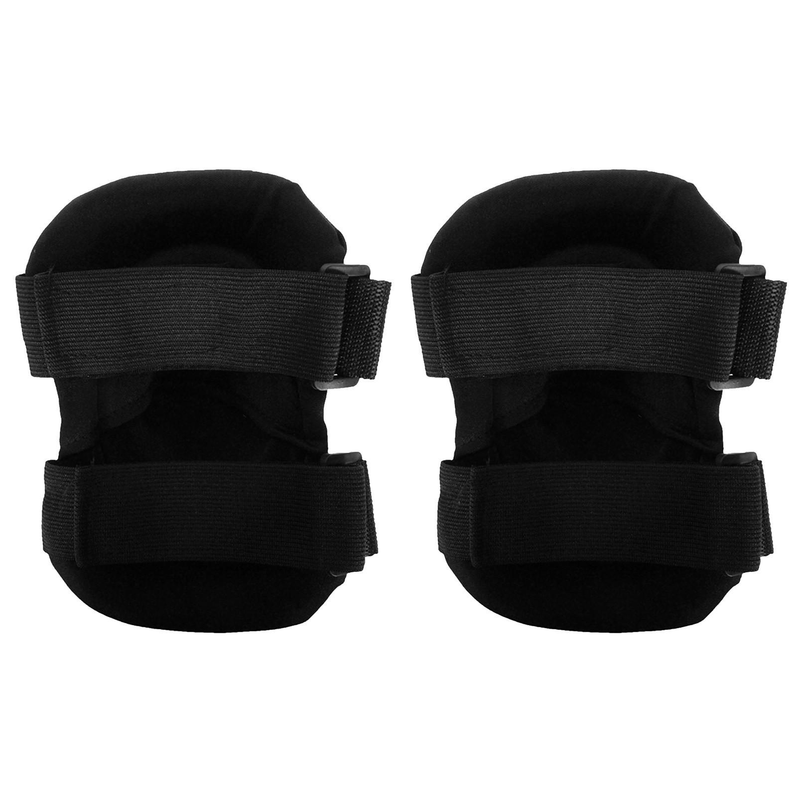 Kit ginocchiere e gomitiere di protezione rigide softair nere royal shop softair - Ginocchiere da piastrellista professionali ...